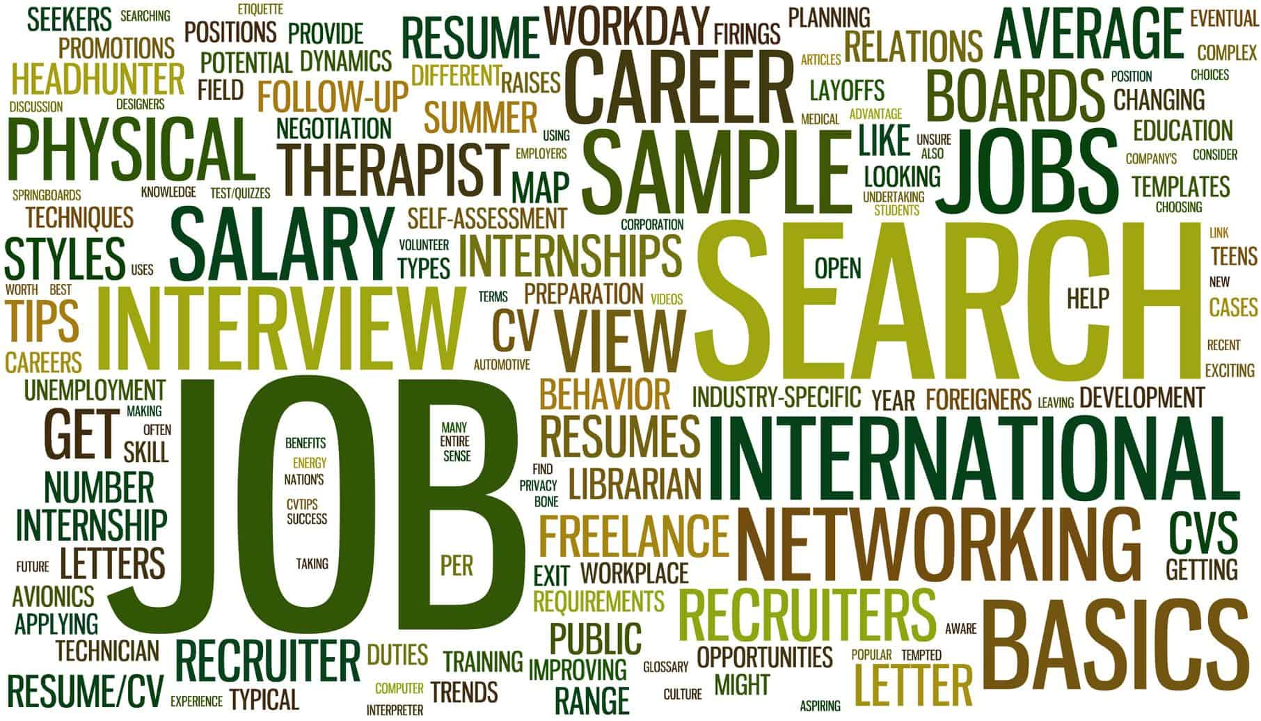 Job, Career, Continuing Education and Retirement